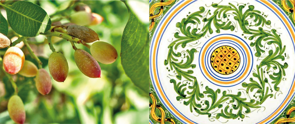 Piatto ceramiche Ruggeri